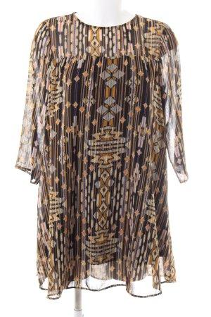 H&M Robe tunique imprimé allover style décontracté