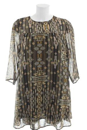 H&M Tunikakleid grafisches Muster Elegant