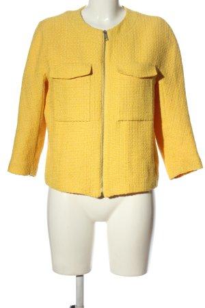 H&M Tweed Blazer primrose weave pattern elegant