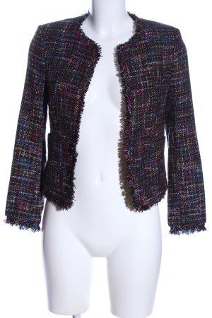 H&M Tweed Blazer allover print business style