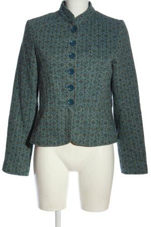 H&M Blazer Tweed estampado repetido sobre toda la superficie look casual