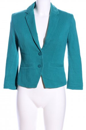 H&M Blazer en tweed bleu style d'affaires