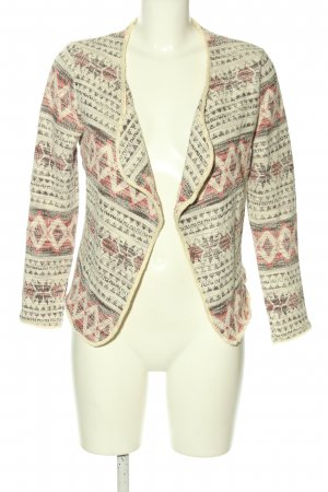 H&M Blazer in tweed stampa integrale stile casual