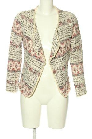 H&M Tweed Blazer allover print casual look