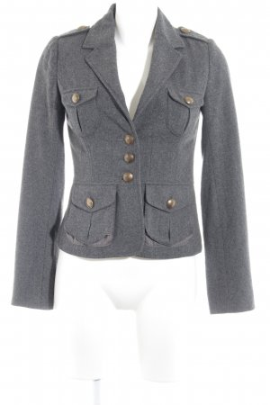 H&M Tweedblazer grau Street-Fashion-Look