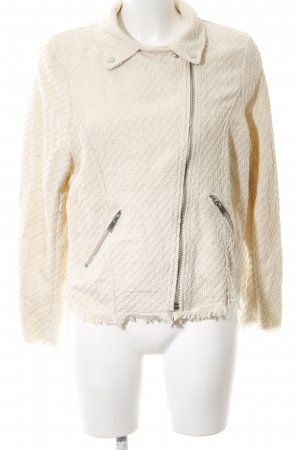H&M Tweedblazer hellbeige Casual-Look