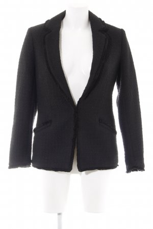H&M Tweedblazer schwarz Brit-Look