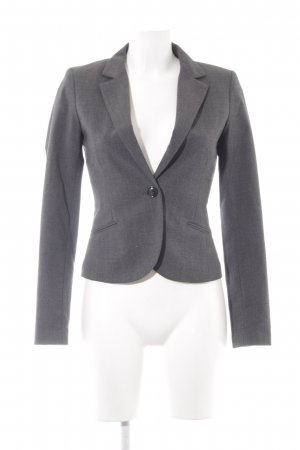 H&M Tweedblazer schwarz-grau Karomuster Business-Look