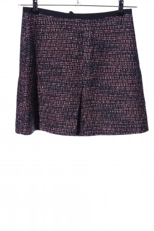 H&M Tweed Skirt black flecked casual look
