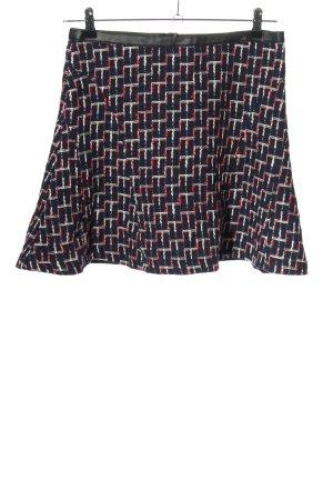 H&M Tweed Skirt allover print casual look