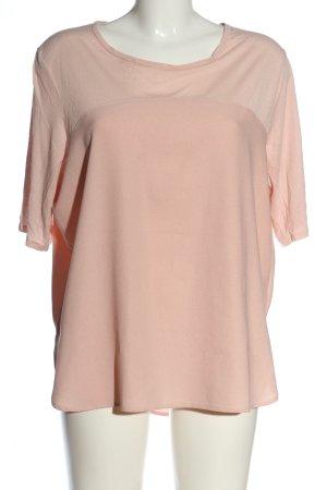 H&M Top à col bateau rose chair style décontracté
