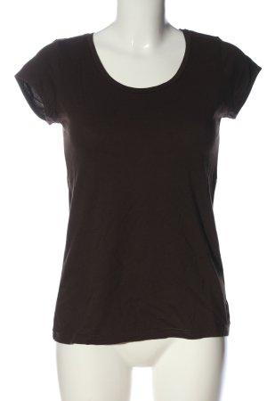 H&M U-Boot-Shirt braun Casual-Look