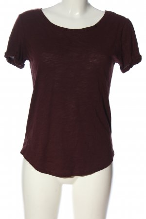 H&M Boothalsshirt lila casual uitstraling