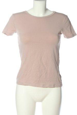 H&M Camiseta nude look casual