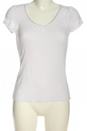 H&M Boothalsshirt wit casual uitstraling