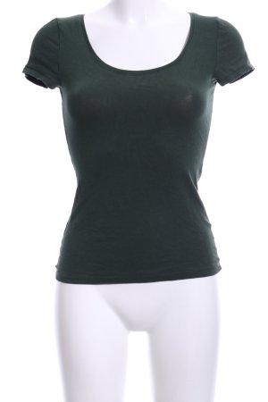 H&M Boatneck Shirt khaki casual look
