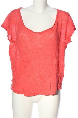 H&M U-Boot-Shirt pink Casual-Look