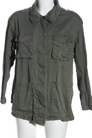 H&M Übergangsjacke khaki Casual-Look