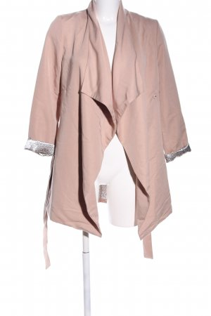 H&M Übergangsjacke nude-silberfarben Casual-Look