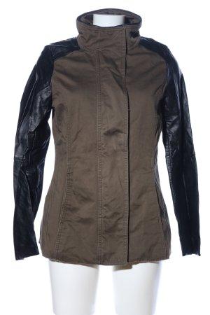 H&M Übergangsjacke braun-schwarz Casual-Look