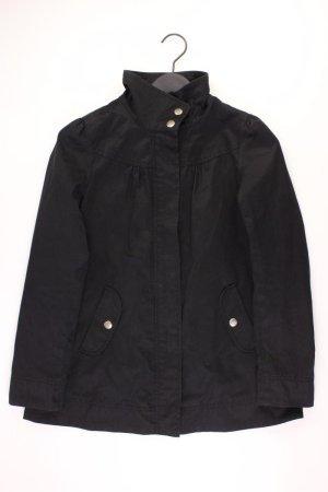 H&M Übergangsjacke Größe 34 schwarz aus Baumwolle