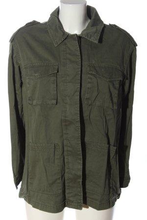 H&M Kurtka przejściowa khaki W stylu casual