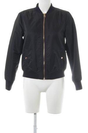 H&M Kurtka przejściowa czarny W stylu casual