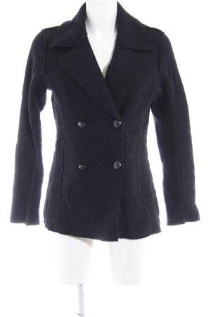 H&M Übergangsjacke schwarz schlichter Stil