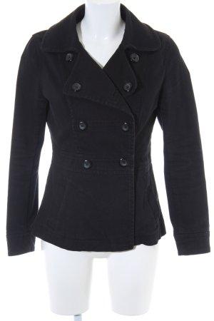 H&M Übergangsjacke schwarz Street-Fashion-Look