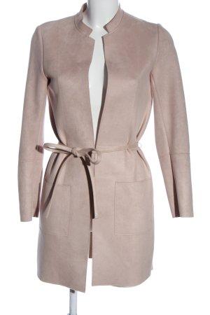 H&M Cappotto mezza stagione rosa stile professionale