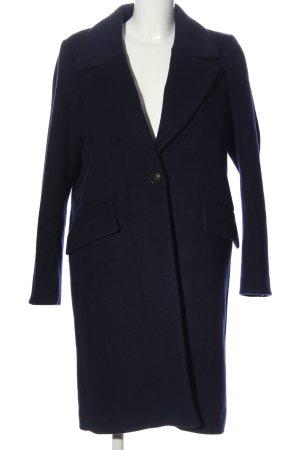H&M Between-Seasons-Coat blue casual look