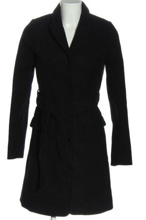H&M Płaszcz przejściowy czarny W stylu casual