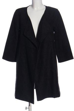 H&M Übergangsmantel schwarz Casual-Look