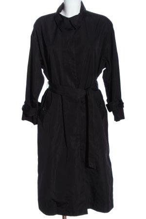 H&M Between-Seasons-Coat black casual look