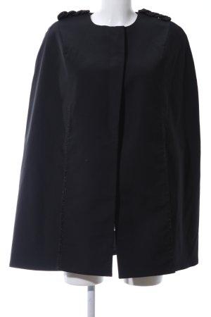 H&M Płaszcz przejściowy czarny W stylu biznesowym