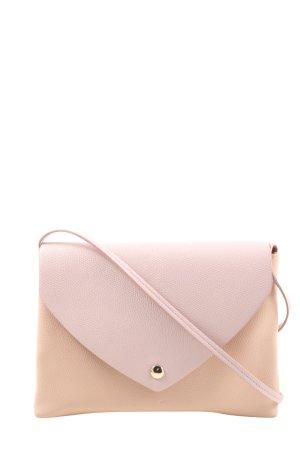 H&M Umhängetasche pink-creme Casual-Look