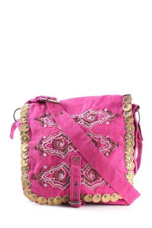 H&M Umhängetasche pink Casual-Look