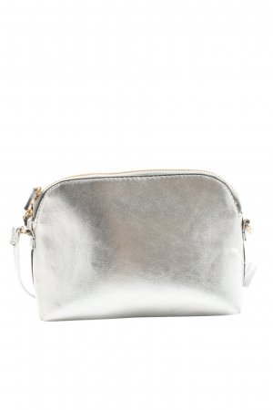 H&M Crossbody bag silver-colored casual look