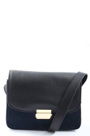 H&M Umhängetasche schwarz-blau Casual-Look