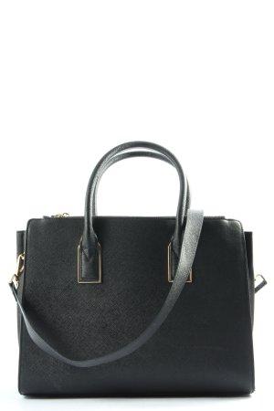 H&M Umhängetasche schwarz Business-Look
