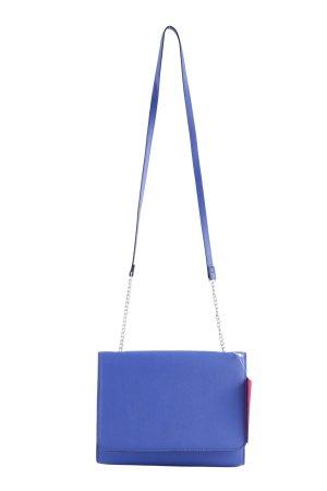 H&M Umhängetasche blau Business-Look
