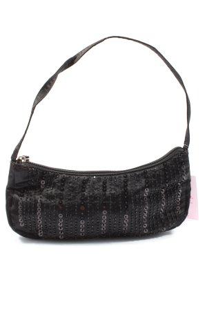 H&M Crossbody bag black striped pattern elegant