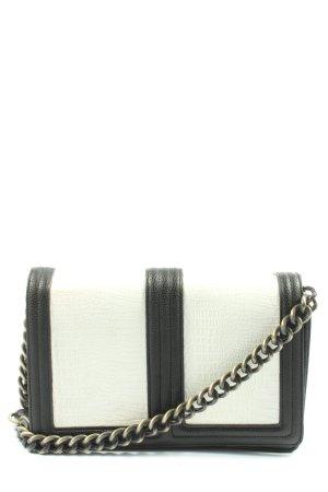 H&M Crossbody bag black-white casual look