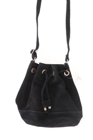 H&M Umhängetasche schwarz aus Leder