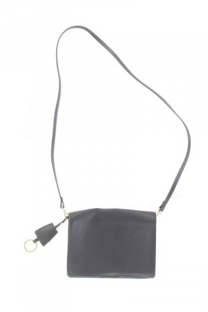 H&M Umhängetasche schwarz aus Polyurethan