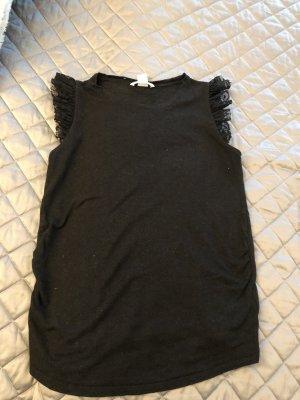 H&M Umstands Shirt mit spitze