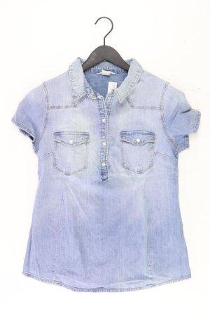 H&M Blusa vaquera azul-azul neón-azul oscuro-azul celeste Algodón