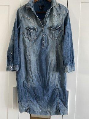 H&M Vestido vaquero azul celeste