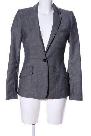 H&M Blazer unisexe gris clair Motif de tissage style d'affaires
