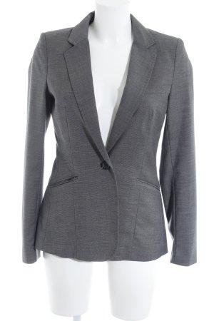H&M Unisex-Blazer grau-anthrazit meliert Business-Look